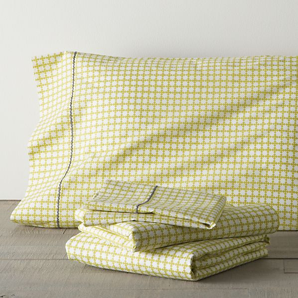 Clover Bamboo King Sheet Set