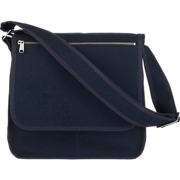Marimekko Olkalaukku Dark Blue Canvas Bag