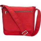 "Marimekko Olkalaukku Red Canvas Bag. 12""Wx5""Dx13""H"