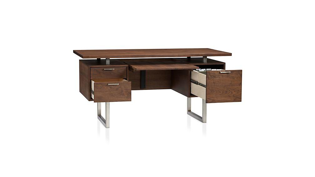Clybourn Desk In Desks Crate And Barrel