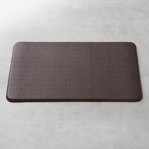 "Cobblestone Espresso 36""x20"" Comfort Mat"