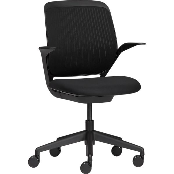 Page Not Found Crate and Barrel : steelcase cobi office chair <strong>Brown Leather</strong> Office Chair from www.crateandbarrel.com size 598 x 598 jpeg 19kB