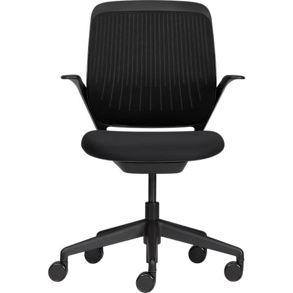 Steelcase® cobi™ Black Office Chair