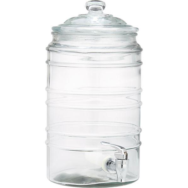 Cold Beverage Jar