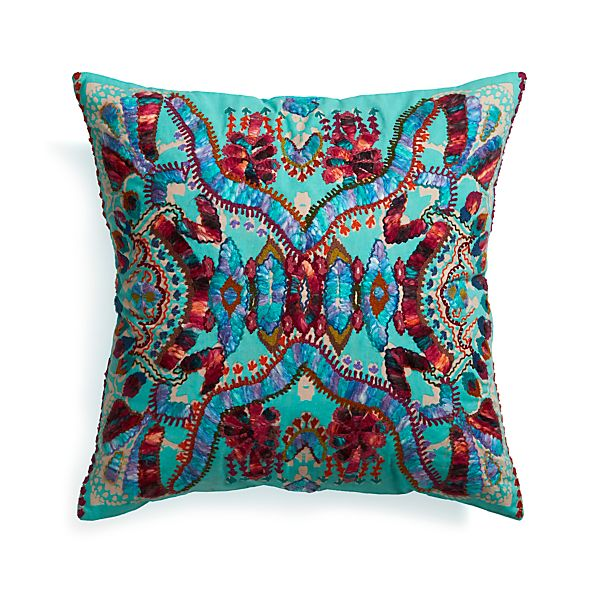 "Crate & Barrel Coletta 23"" Pillow 