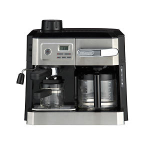 DeLonghi Combi 10 Cup Coffee Maker-4 Cup Espresso Maker