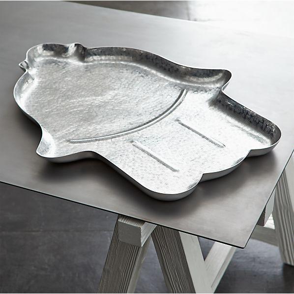 Como Aluminum Tray