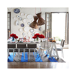 Como Sawhorse Dining Table