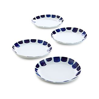 Set of 4 Como Tile Salad Plates