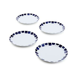 Set of 4 Como Tile Dinner Plates