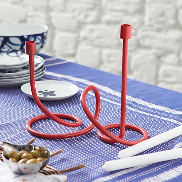 Como Large Loopy Candle Holder