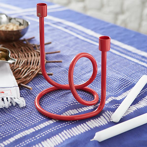 Como Small Loopy Candle Holder