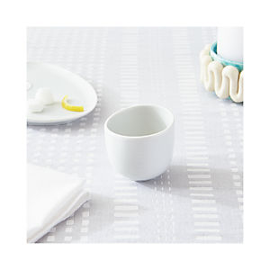 Como White Espresso Cup and Saucer