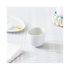 Como White Espresso Cup