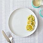 Como White Dinner Plate.