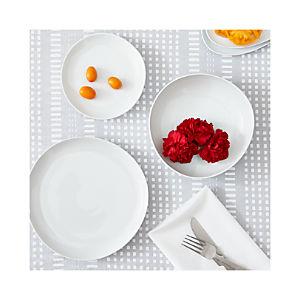 Como White Plates