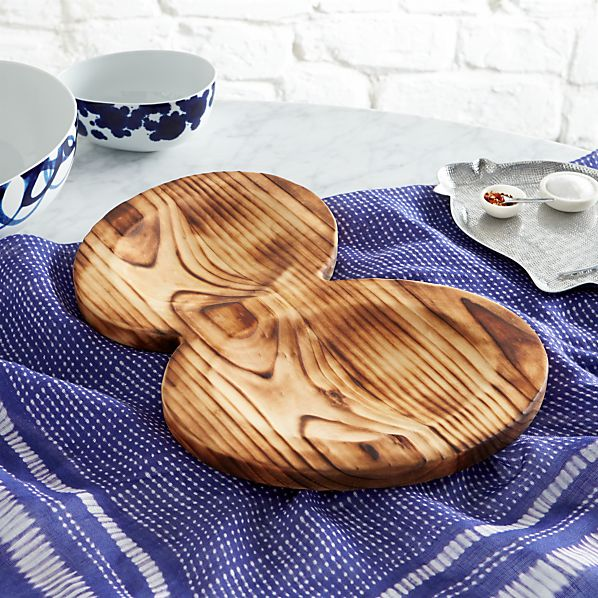 Como Wood Tray