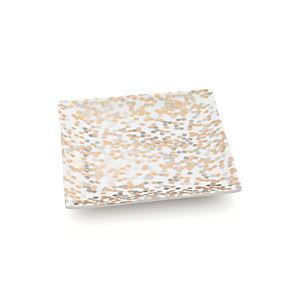 Confetti Appetizer Plate