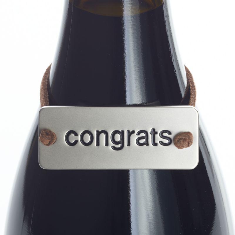 Congrats Bottle Tag