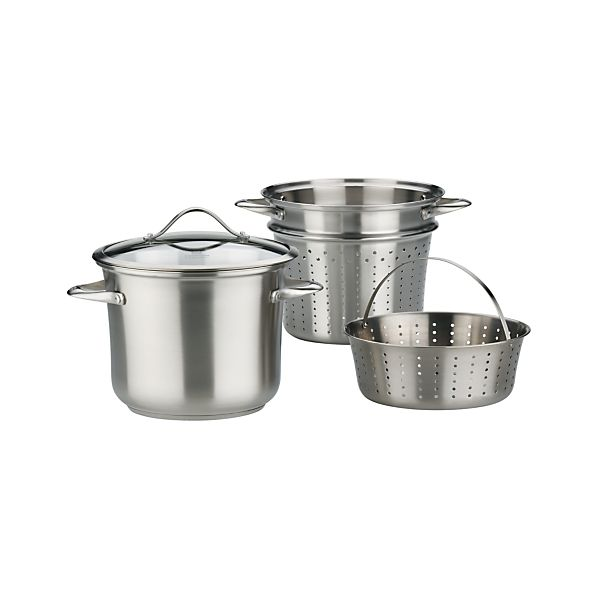 Calphalon® Contemporary Stainless Multipot with Lid