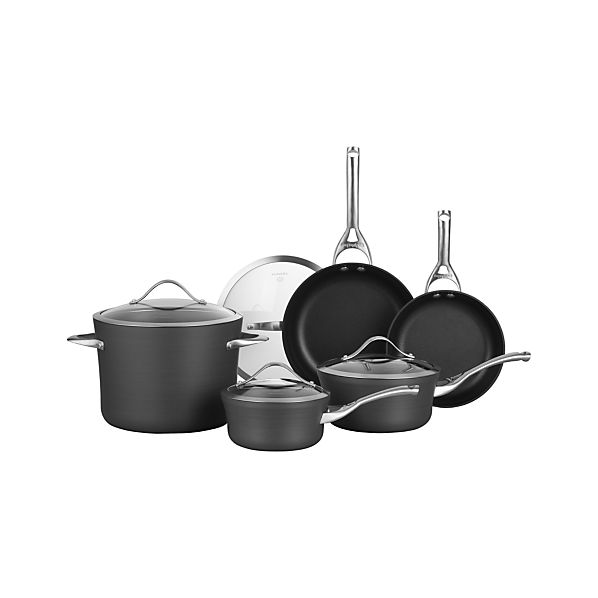 Calphalon® Contemporary® Nonstick 9-Piece Cookware Set with Bonus