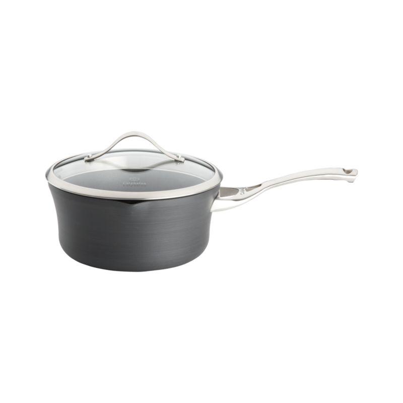 Calphalon Contemporary ™ Nonstick 3.5 qt. Pour & Strain Saucepan