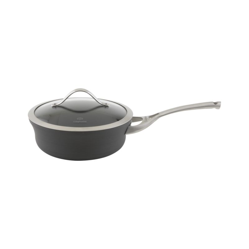 Calphalon® Contemporary Nonstick Shallow Saucepan with Lid