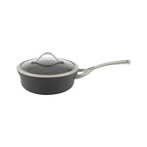 Calphalon® Contemporary Nonstick Shallow 2.5 qt. Saucepan with Lid