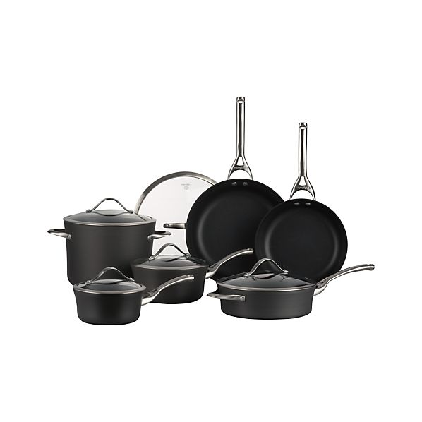 Calphalon® Contemporary® Nonstick 11-Piece Cookware Set with Double Bonus