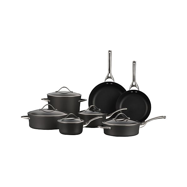 Calphalon Contemporary ™ Nonstick 12-Piece Cookware Set with Double Bonus
