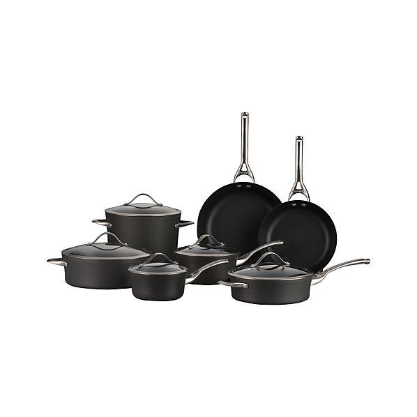 Calphalon Contemporary ™ Nonstick 12-Piece Cookware Set with Double Bonus