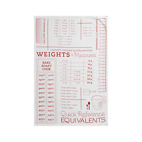 Conversion Red Dishtowel