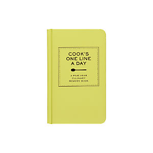 Cook's One Line a Day Cookbook