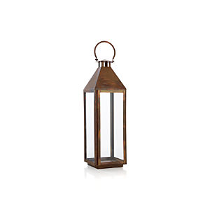 Copper Large Lantern