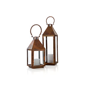 Copper Lanterns