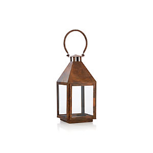 Copper Small Lantern