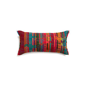 "Cortez 24""x12"" Pillow with Feather-Down Insert"