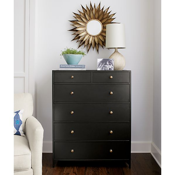 Cortina Six-Drawer Chest