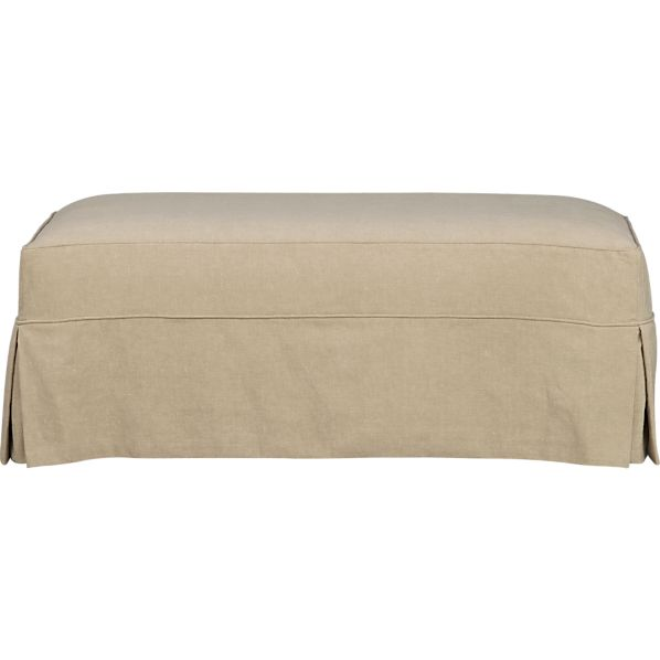 Slipcover Only for Cortland Ottoman and a Half