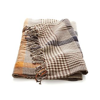Costas Plaid Throw