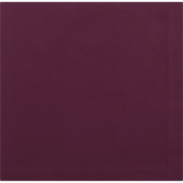 Cotton Aubergine Napkin
