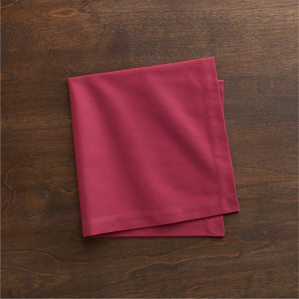 Cotton Berry Napkin