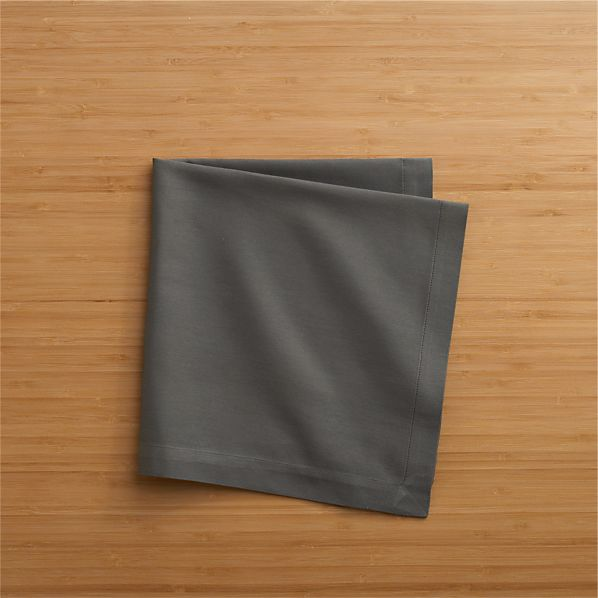 Cotton Steel Grey Napkin