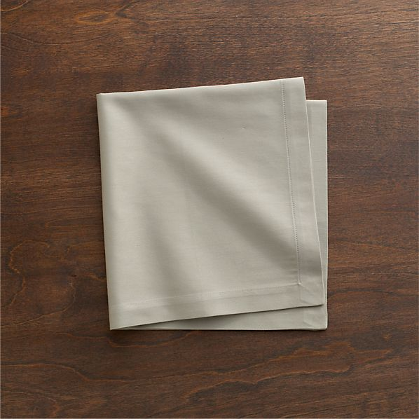 Cotton Taupe Napkin