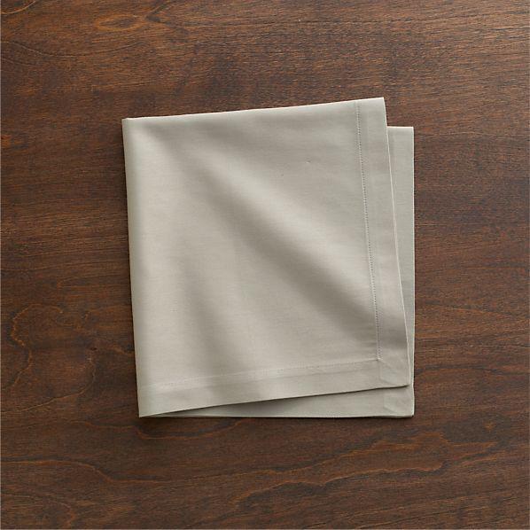 Cotton Taupe Napkin