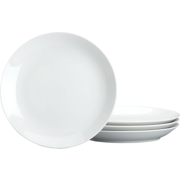 Coupe Salad Plates Set of Four