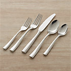 Couture 20-Piece Flatware Set: four 5-piece place settings.