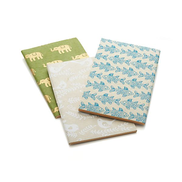 Craft Journals Set of Three