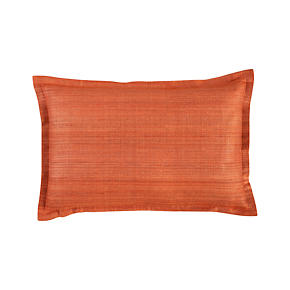Crawford Orange 18x12 Pillow