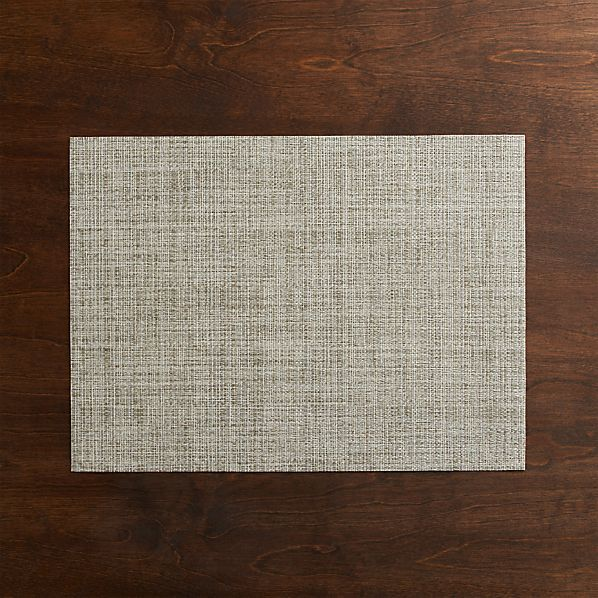 Chilewich® Crepe Neutral Placemat